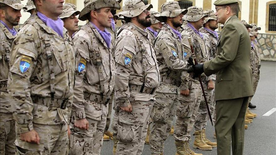 Despiden a 31 militares que parten a Afganistán para tareas de desmontaje