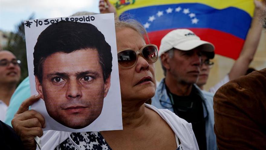 La oposición venezolana exige en EE.UU. la liberación de Leopoldo López