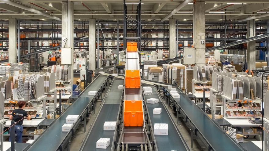 Centro logístico de Zalando