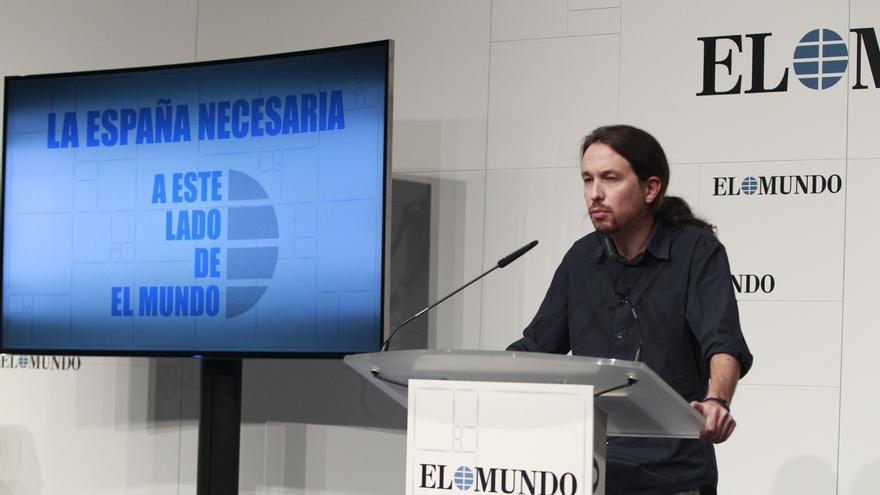 """Iglesias critica la """"decrepitud moral"""" de Felipe González y le pide que sea """"más respetuoso"""" con lo que representa"""