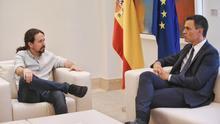 Sánchez e Iglesias se reúnen en secreto para desbloquear la negociación de los Presupuestos