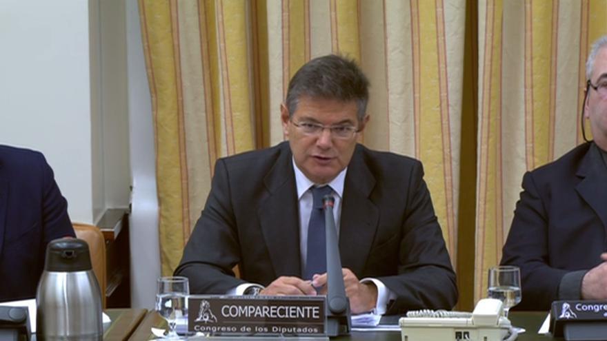 Rafael Catalá era secretario de Estado de Fomento cuando ocurrió el accidente de Angrois