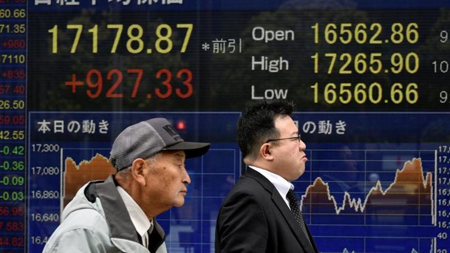La Bolsa de Tokio abre con un avance del 0,43 % hasta los 18.990 puntos
