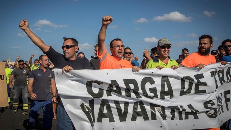 La plantilla de astilleros de San Fernando suspende las movilizaciones