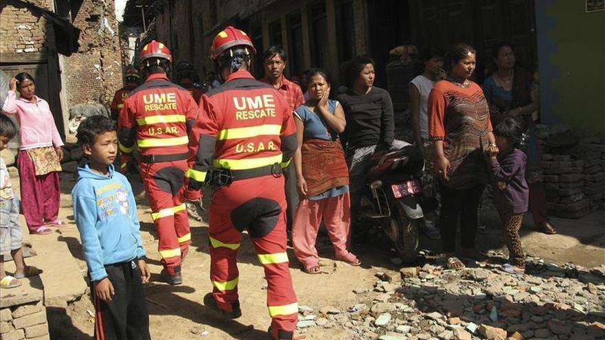 Equipos de la UME y la Guardia Civil en Nepal dan por finalizado el trabajo y regresan a España