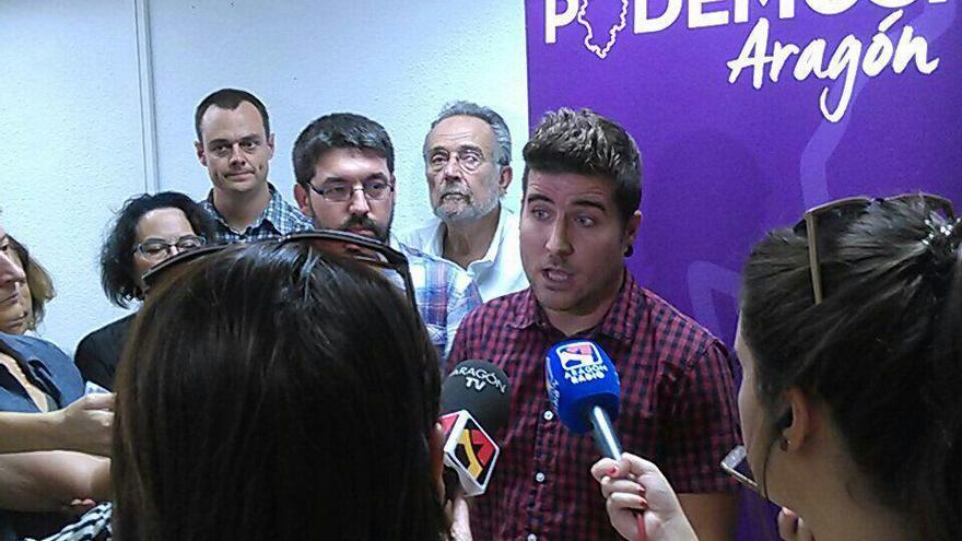 Nacho Escartín, es el nuevo secretario general de Podemos Aragón