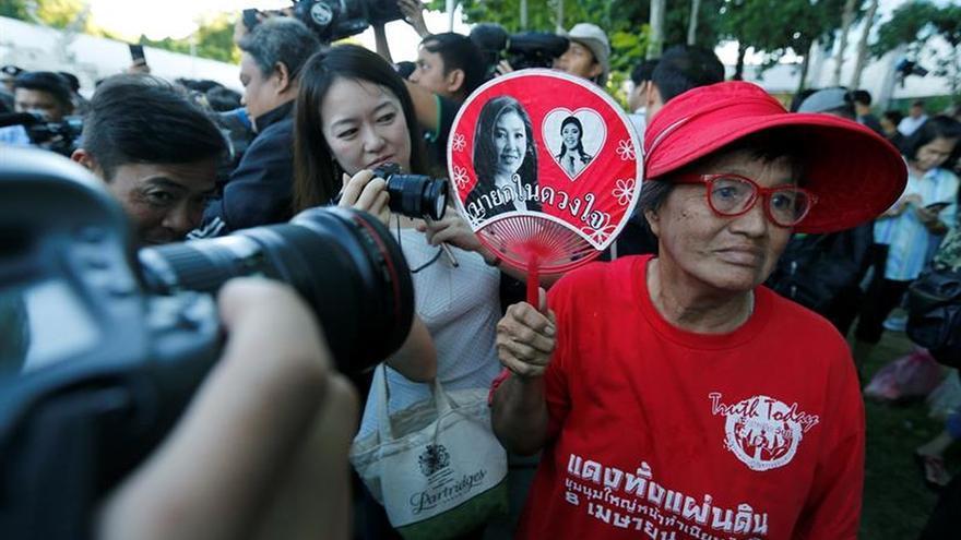 La ex primera ministra tailandesa condenada a 5 años de prisión por negligencia