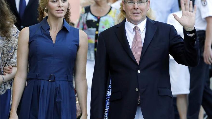 Cuarenta y dos salvas anunciarán en Mónaco el nacimiento de los herederos