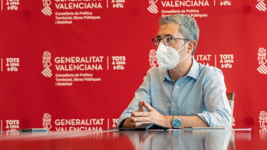 El conseller de Política Territorial, Arcadi España.