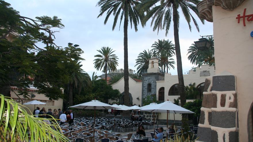 Plaza del Pueblo Canario. (FRANCISCO JAVIER TOLEDO RAVELO)