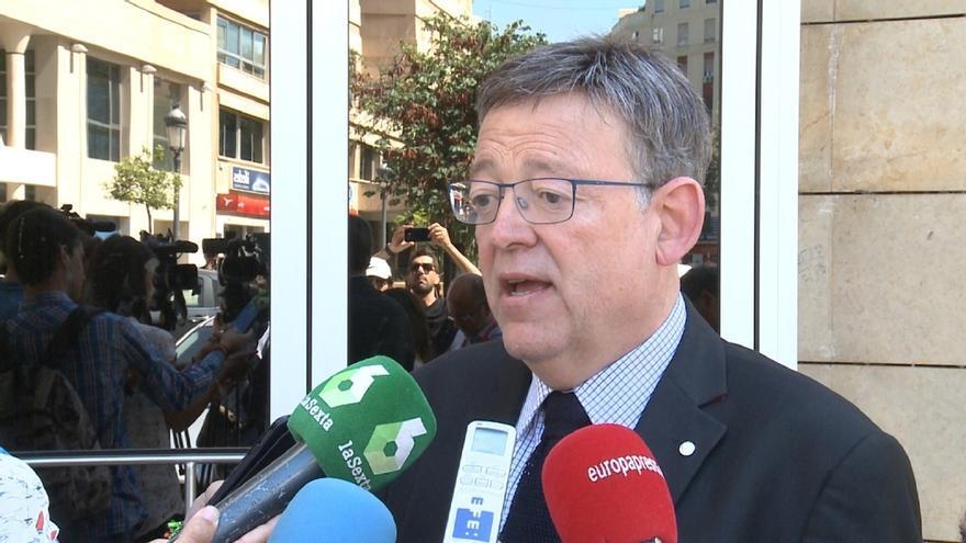 """Puig dice que Barberá """"no representa a los valencianos"""" e insiste en que debe dejar el Senado"""