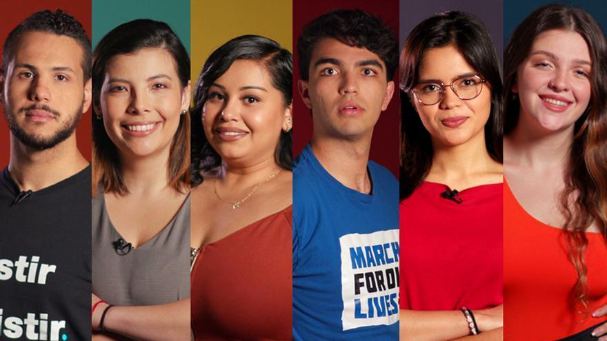 Los seis protagonistas de 'ActivistaZ'