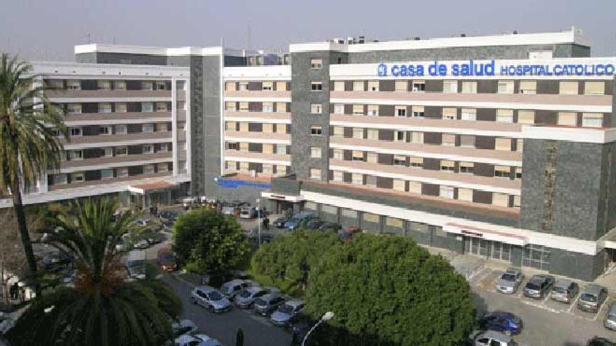 Hospital Casa de la Salud, en una imagen de archivo.
