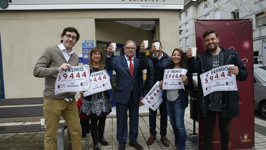El sorteo deja 466.000 euros en Cantabria, en Santander, Renedo y Arnuero