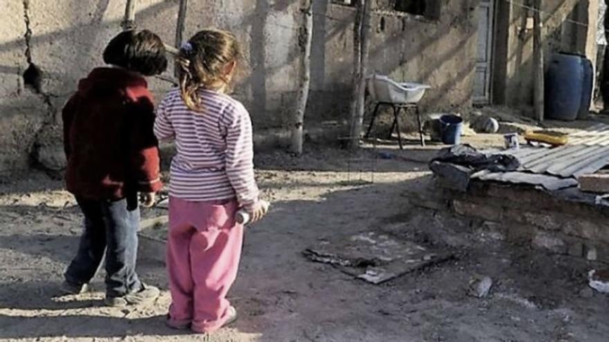 Según cifras de UNICEF, pobreza e indigencia afectan al 63% de niños y adolescentes en nuestro país