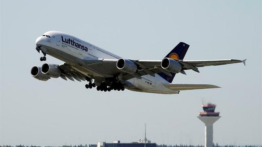 El sindicato UFO amenaza con huelgas en Lufthansa en julio