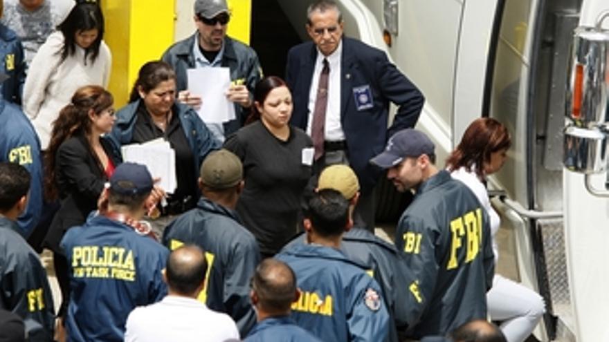 133 detenidos por el FBI en Puerto Rico
