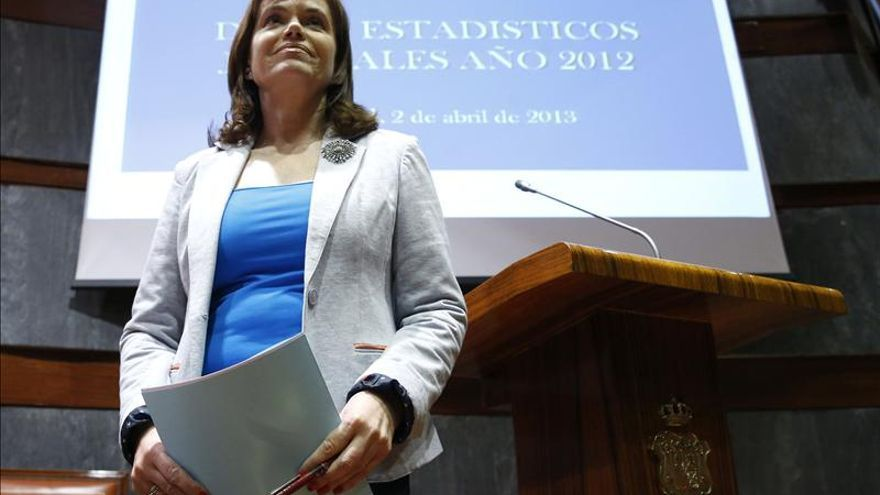 Inmaculada Montalbán, ponente de la sentencia emitida por el TSJA