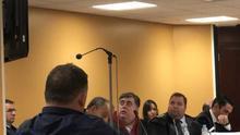 Momento de la vista celebrada este viernes en la Audiencia Provincial tinerfeña
