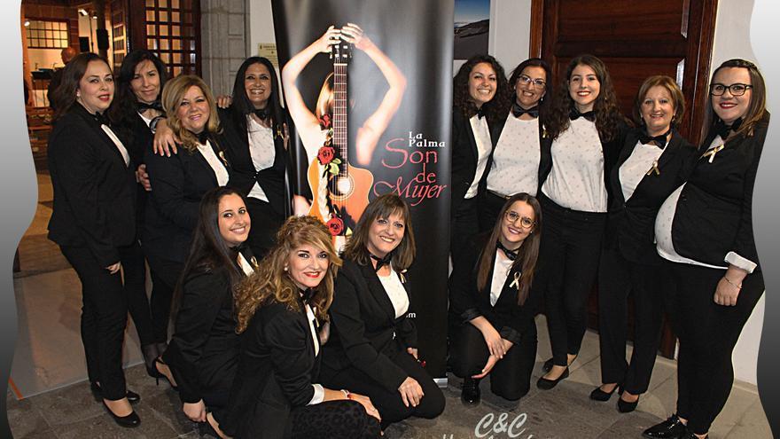 El grupo 'Son de Mujer' en la Casa Salazar este viernes.