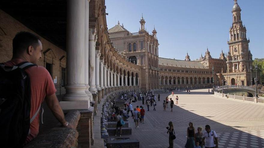 La Plaza de España de Sevilla, Tesoro de la Cultura Cinematográfica Europea