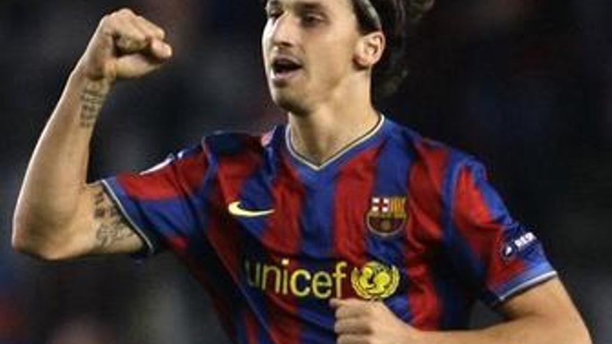 Ibrahimovic, baja contra el Athletic