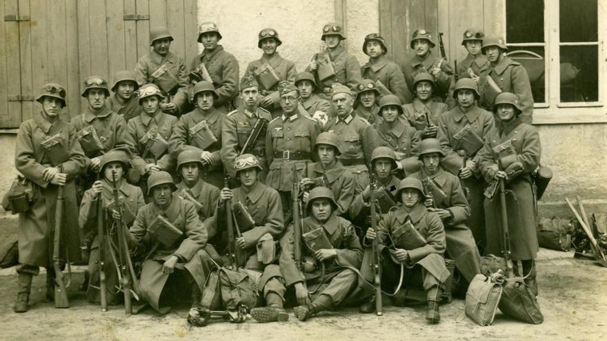 Miembros División Azul