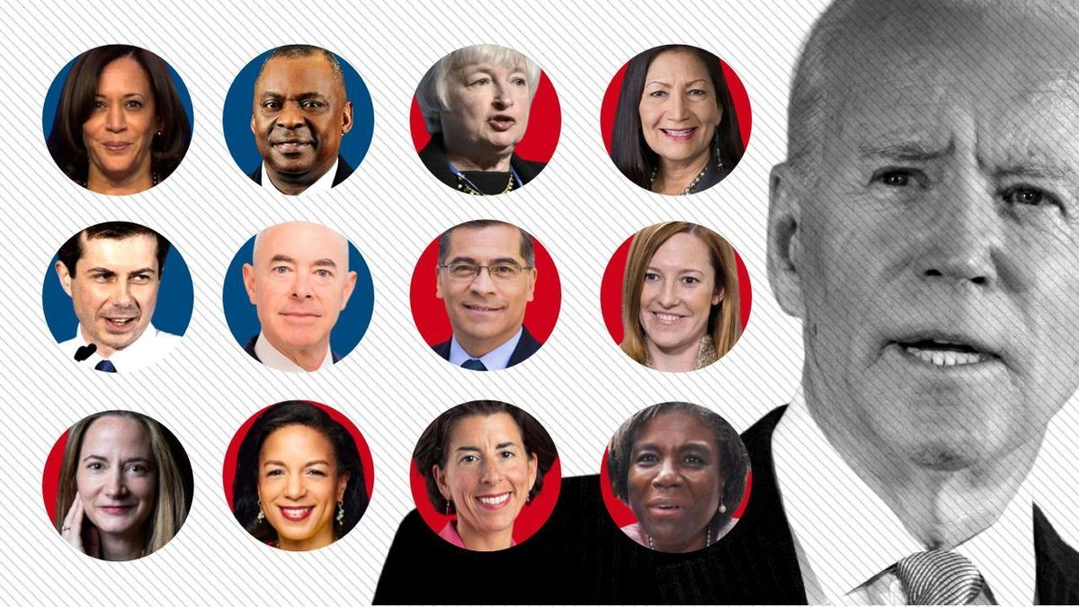 El gabinete de ministros de Joe Biden, una vitrina de su política afirmativa de la diversidad