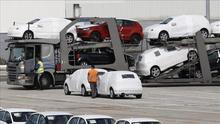 La producción en Volkswagen Navarra se ha parado durante 24 horas / Foto: Efe.