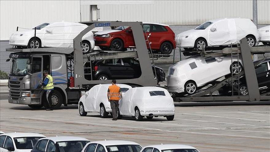 Paro de producción en la factoría Volkswagen Navarra en protesta por un accidente mortal