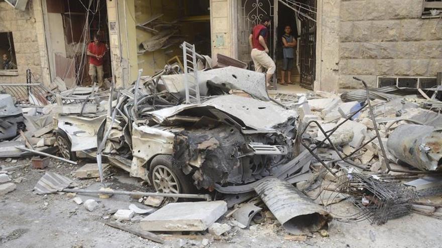 Más de 900 civiles muertos por la violencia en tres últimos meses en Alepo