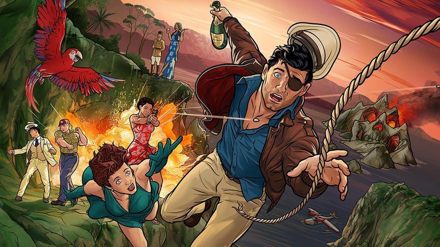 'Archer: Danger Island', nueva temporada, nuevo mundo por descubrir