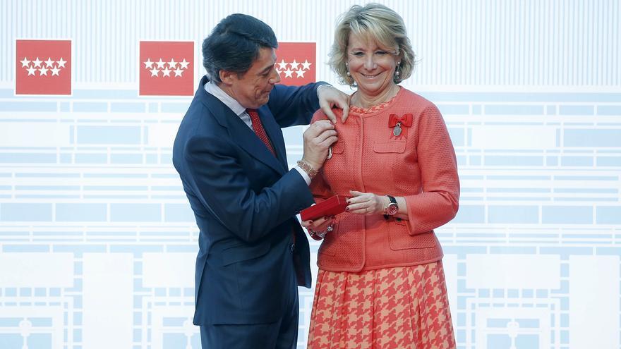 Aguirre, Casillas y el COE, Medallas de Oro de la Comunidad de Madrid