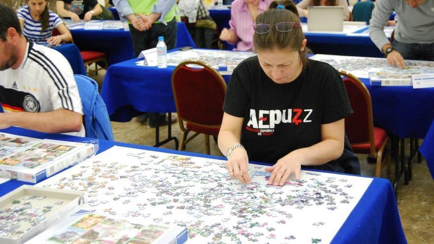 La vizcaína Laura Ubillos, subcampeona de Europa de puzles, participará en el próximo encuentro en Asturias