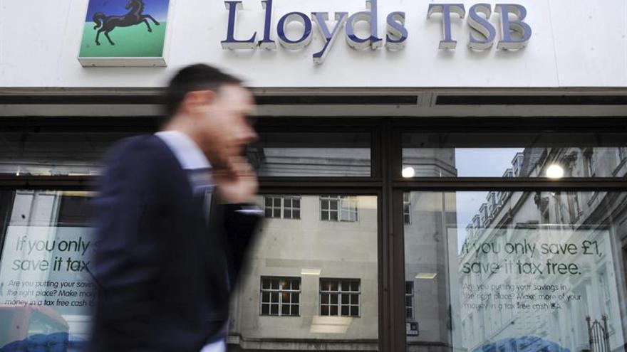Lloyds ganó 2.317 millones de euros hasta septiembre, un 28,5 % más