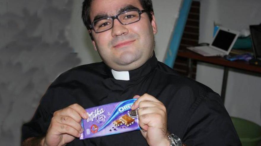 Andreu Susarte, cura de Beniarrés. Foto: Beniarrés al día