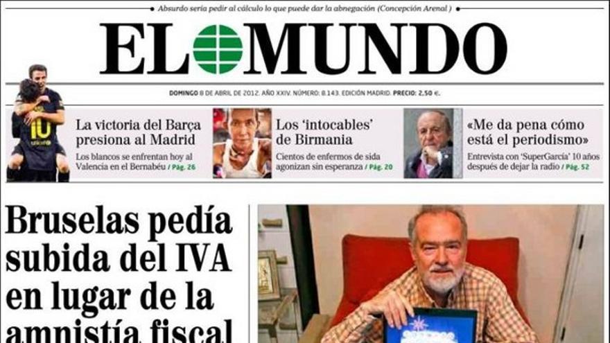 De las portadas del día (08/04/2012) #6