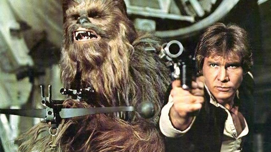 Han Solo y Chewbacca, protagonistas del 'spin-off' de 'Star Wars'