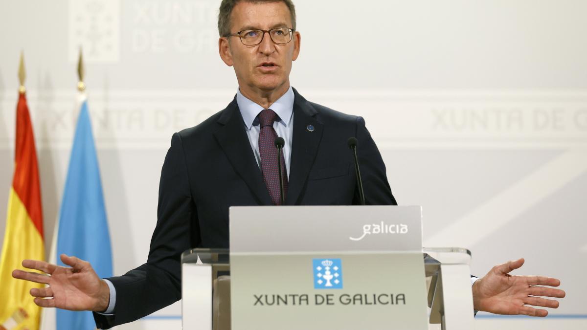 El presidente de la Xunta, Alberto Núñez Feijóo, en una imagen de archivo.