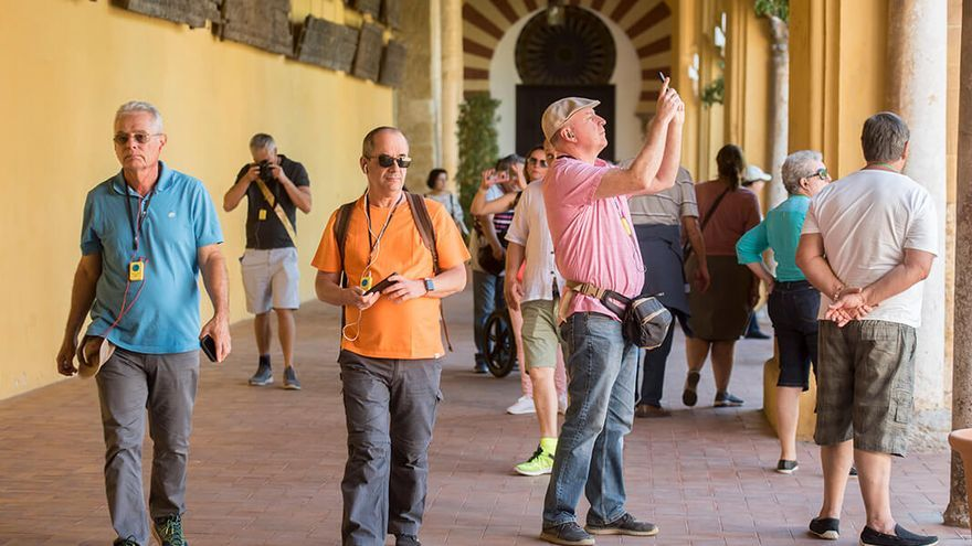 Turistas en el casco histórico de Córdoba | TONI BLANCO