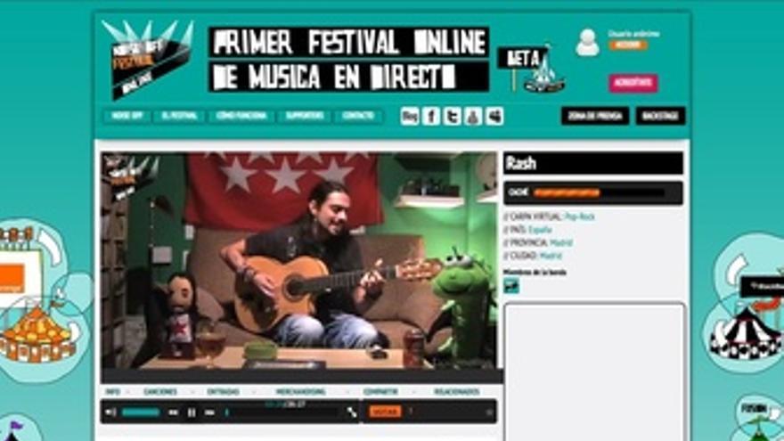 Vista Del Festival Online