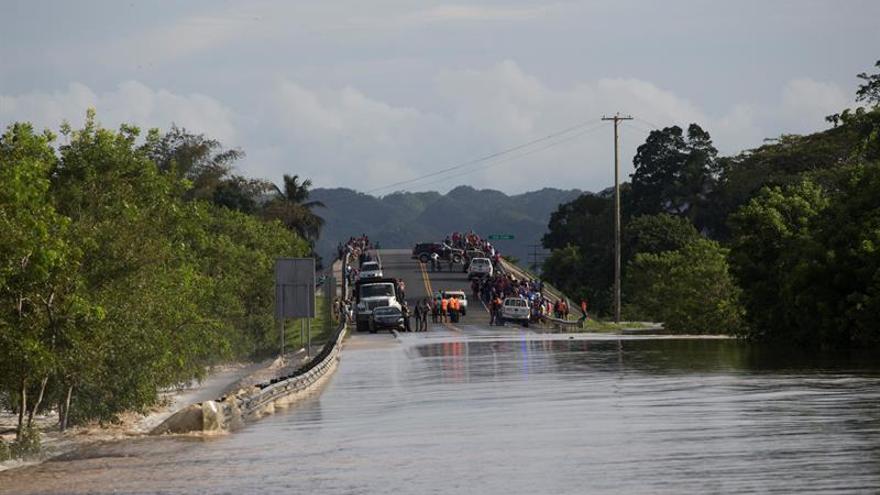 Más de 8.800 viviendas anegadas en la República Dominicana tras el huracán María