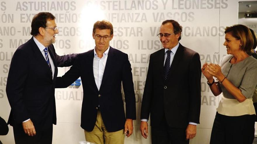 Rajoy: El PP ha dado una lección de unidad, solidaridad y solidez