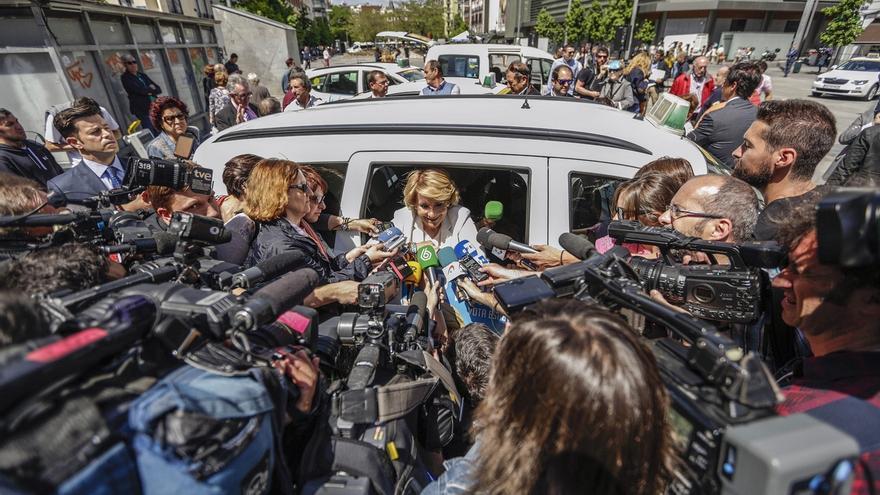 """Aguirre dice que su marido """"está al corriente de pago"""" con Hacienda y Seguridad Social"""