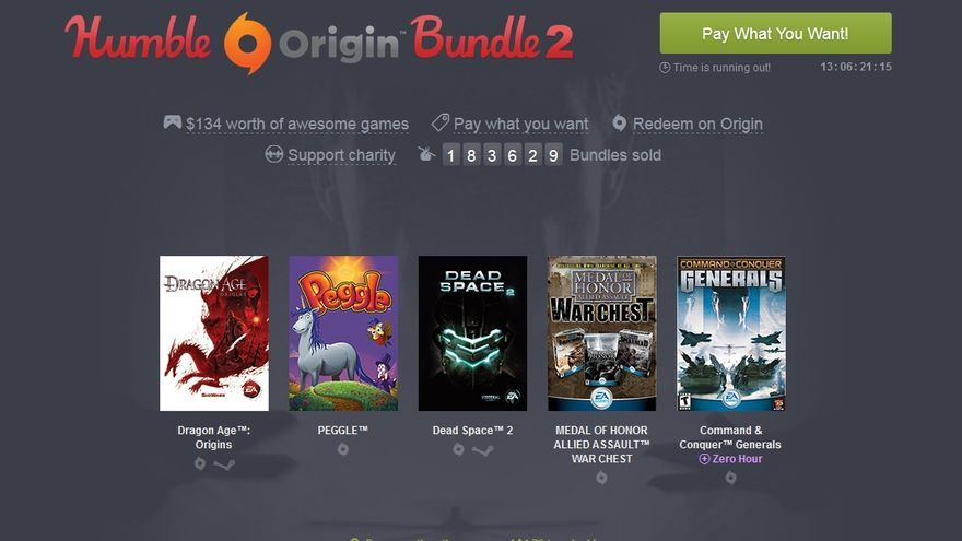 Electronic Arts  Humble Bundle