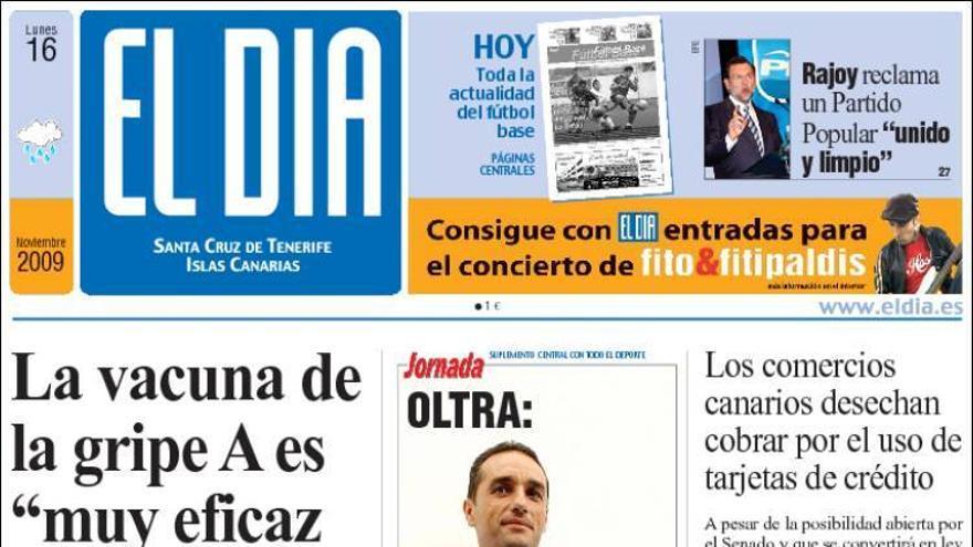 De las portadas del día (16/11/09) #3