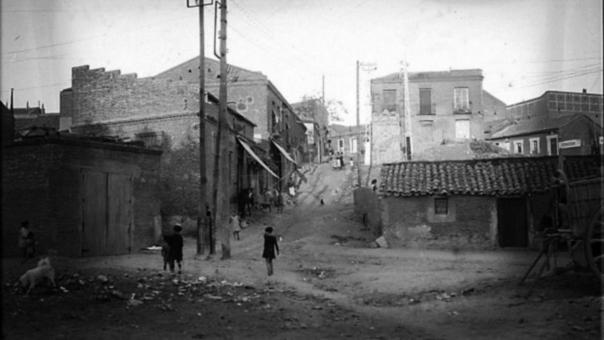El barrio de Las Peñuelas en 1900