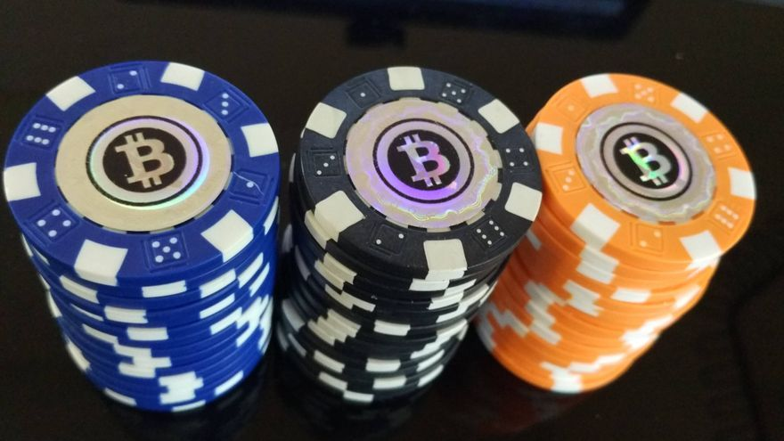 Fichas de poker bitcoin