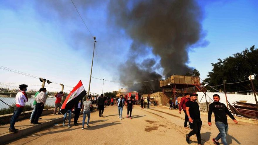 Huelga general en varios puntos de Irak apoyada por el clérigo chií Al Sadr