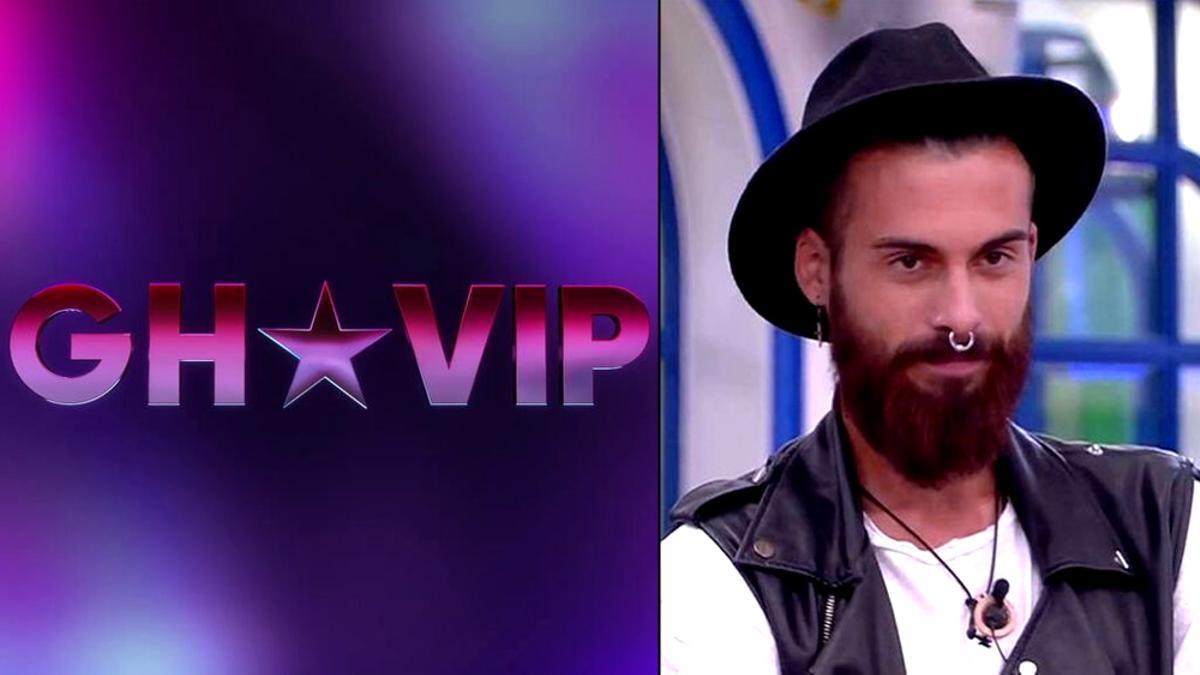 El nuevo logo de 'GH VIP', y José María López